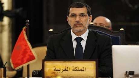 رئيس الوزراء المغربي وأمين عام حزب العدالة والتنمية سعد الدين العثماني