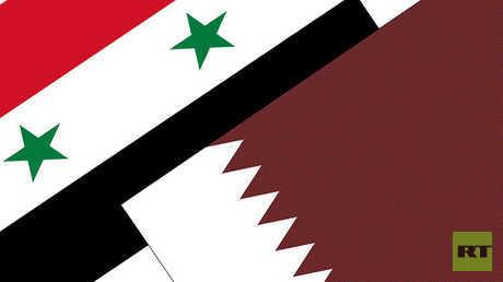 قطر وسوريا