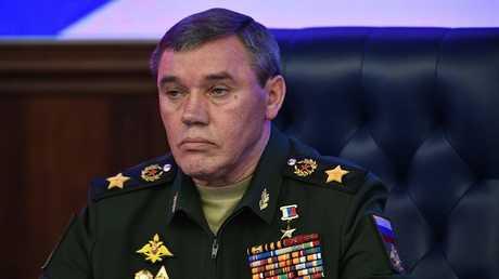 رئيس الأركان الروسية فاليري غيراسيموف