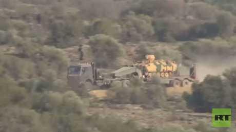 الجيش التركي يعلن تطويق مدينة عفرين
