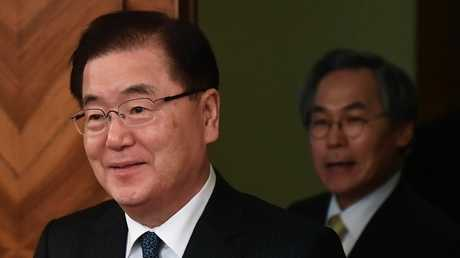 تشونغ يوي-يونغ، رئيس إدارة الأمن القومي لدى رئيس كوريا الجنوبية