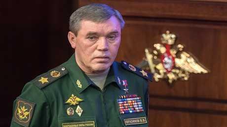 رئيس هيئة الأركان العامة للقوات المسلحة الروسية فاليري غيراسيموف