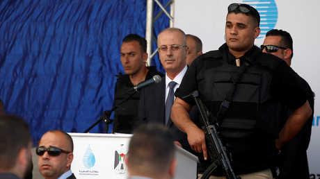 رئيس الوزراء الفلسطيني رامي الحمدالله
