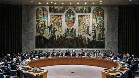 جلسة لمجلس الأمن الدولي