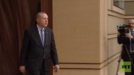 أردوغان: سنلاحق الإرهابيين على طول الحدود