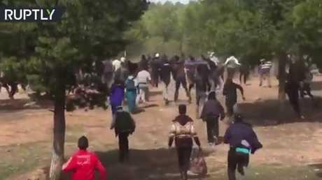 اشتباكات بين الأمن والمتظاهرين في المغرب