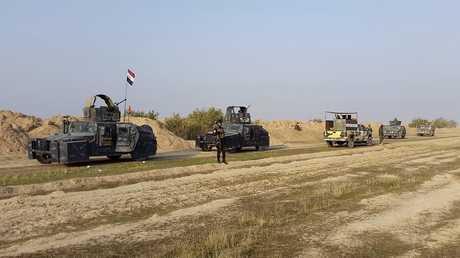 قزات الأمن العراقي في محافظة ديالى