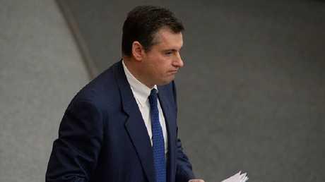 ليونيد سلوتسكي، رئيس لجنة العلاقات الدولية في مجلس النواب الروسي (صورة أرشيفية)
