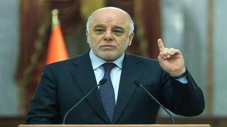 رئيس الوزراء العراقي حيدر العبادي - أرشيف