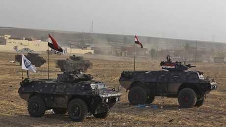 عمليات الجيش العراقي في محافظة الأنبار غرب العراق