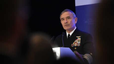 لأدميرال هاري هاريس، قائد القيادة الأميركية في المحيط الهادئ