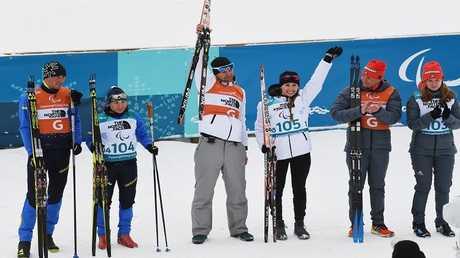ليسوفا تحصد الميدالية الثامنة لروسيا في بارالمبياد بيونغ تشانغ