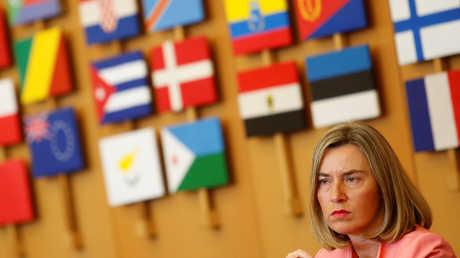 المفوضة العليا للشؤون الخارجية والأمن في الاتحاد الأوروبي فيديريكا موغيريني