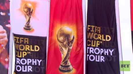 كأس العالم يزور العاصمة المصرية