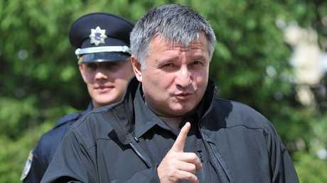 وزير الدفاع الأوكراني أرسين أفاكوف