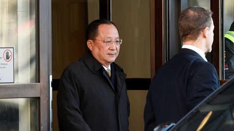 وزير الخارجية الكوري الشمالي