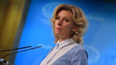 المتحدثة باسم الخارجية الروية ماريا زاخاروفا