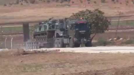 الجيش التركي يعلن إحكام الطوق على عفرين