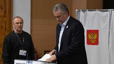 رئيس جمهورية القرم الروسية سيرغي أكسيونوف
