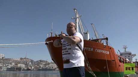 رباع روسي يحطم رقما قياسيا جديدا ليستذكر عودة القرم لروسيا