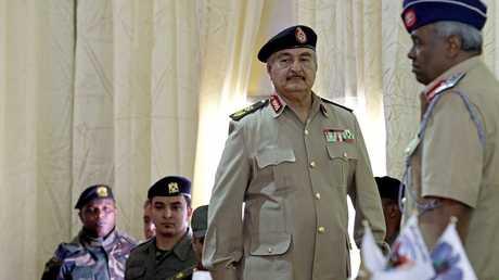 المشير الليبي خليفة حفتر