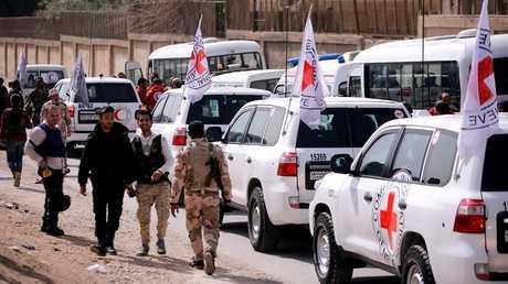 الصليب الأحمر الدولي في سوريا
