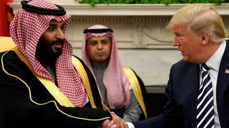 الرئيس الأمريكي ترامب يستقبل ولي العهد السعودي في البيت الأبيض
