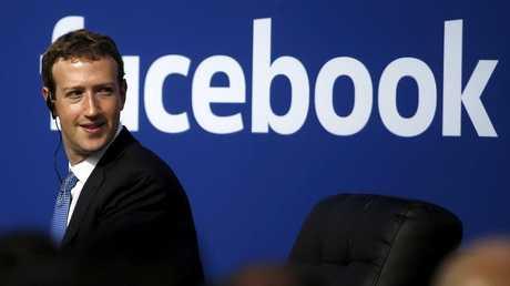 مؤسس ومالك موقع فيسبوك مارك زوكربيرغ