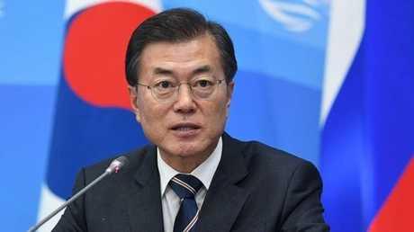 الرئيس الكوري الجنوبي مون جي إن