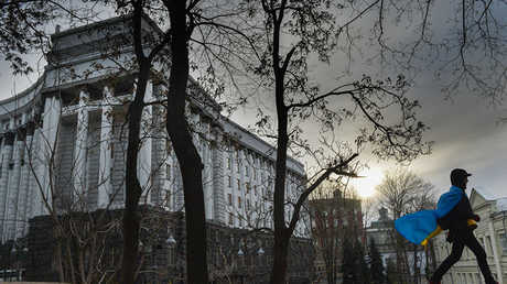 مبنى الحكومة الأوكرانية في كييف