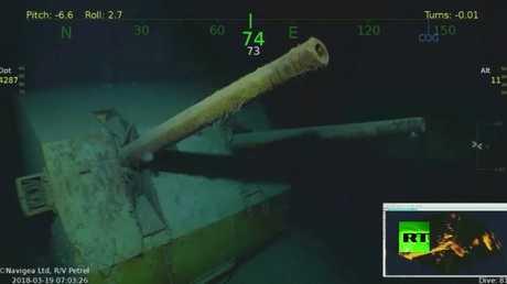 العثور على حطام طراد أمريكي دمرته اليابان في الحرب العالمية الثانية