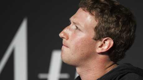 مؤسس ومالك شركة فيسبوك مارك زوكربيرغ