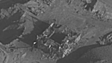 مفاعل الكبر في دير الزور - 2007