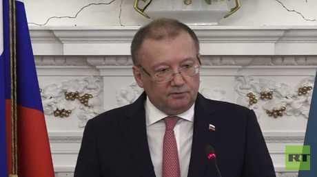 السفير الروسي في لندن ألكسندر ياكوفينكو