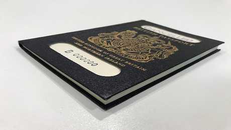 الجواز البريطاني القديم