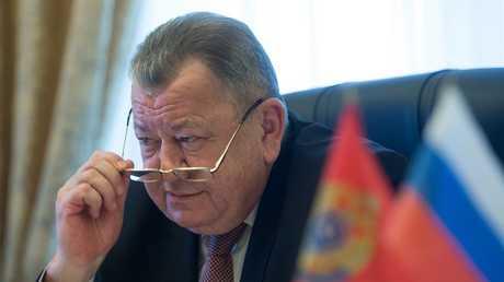 نائب وزير الخارجية الروسية، أوليغ سيرومولوتوف