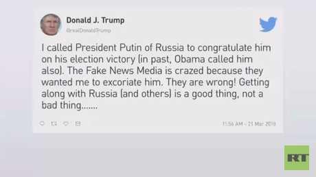 تهنئة بوتين.. مدعاة لانتقاد ترامب!