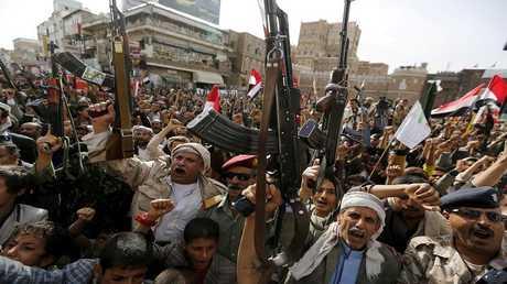 صورة أرشيفية لجماعة أنصار الله اليمنية