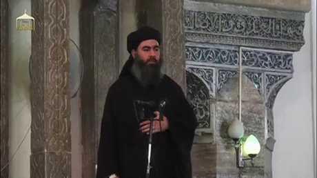 أبو بكر البغدادي، 05/07/2014، الموصل، العراق