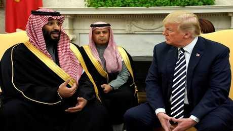 الرئيس الأمريكي دونالد ترامب وولي العهد السعودي الأمير محمد بن سلمان