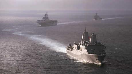 سفن حربية أمريكية - صورة أرشيفية