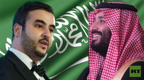 محمد بن سلمان وخالد بن سلمان