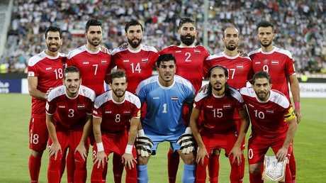 منتخب سوريا - صورة من الأرشيف