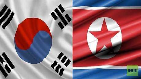 العلمان الكوري الشمالي والجنوبي