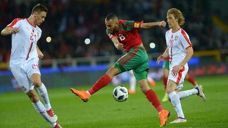 فوز معنوي للمغرب على صربيا استعدادا لمونديال روسيا