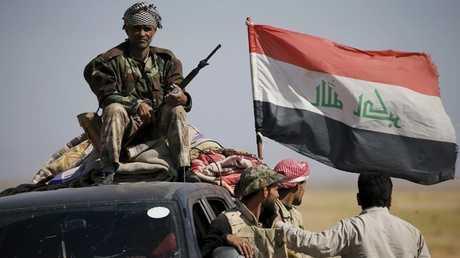 عناصر للحشد الشعبي العراقي