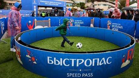 افتتاح أول حديقة بمناسبة مونديال 2018 في سوتشي