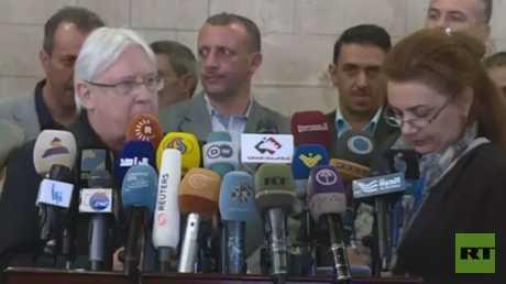 المبعوث الأممي يجري محادثات في صنعاء