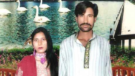 شاهزاد مسيح وزوجته شاما شاهزاد