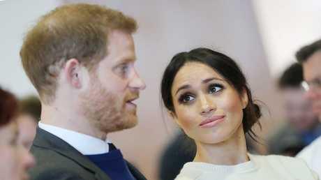 الأمير البريطاني هاري، وخطيبته ميغان ماركل، بلفاست، أيرلندا الشمالية 23 مارس 2018
